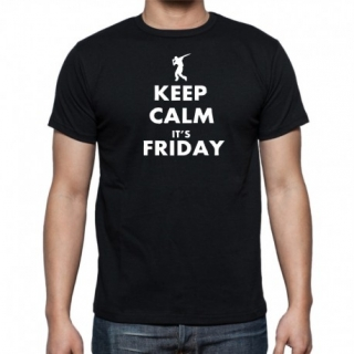 KEEP CALM IT´S FRIDAY